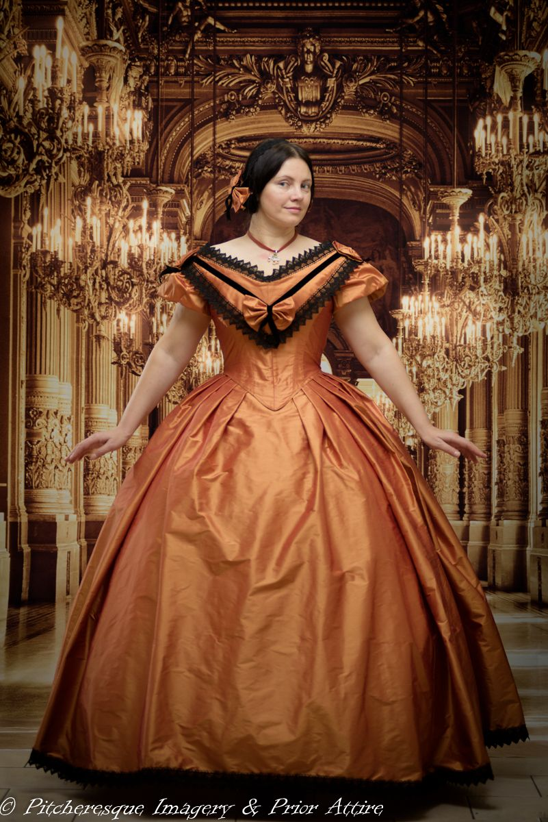 Making a Mid Victorian Ball Gown Victorian ball gowns