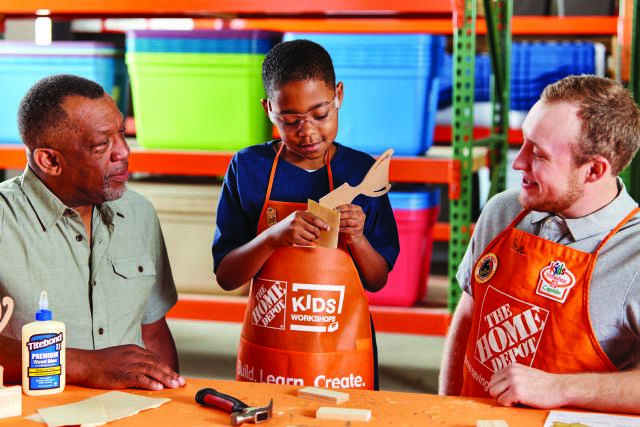 Monthly Kids Classes At Home Depot Free Kids Workshop