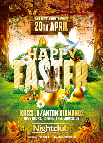 Happy Easter Event – Easter Flyer Template