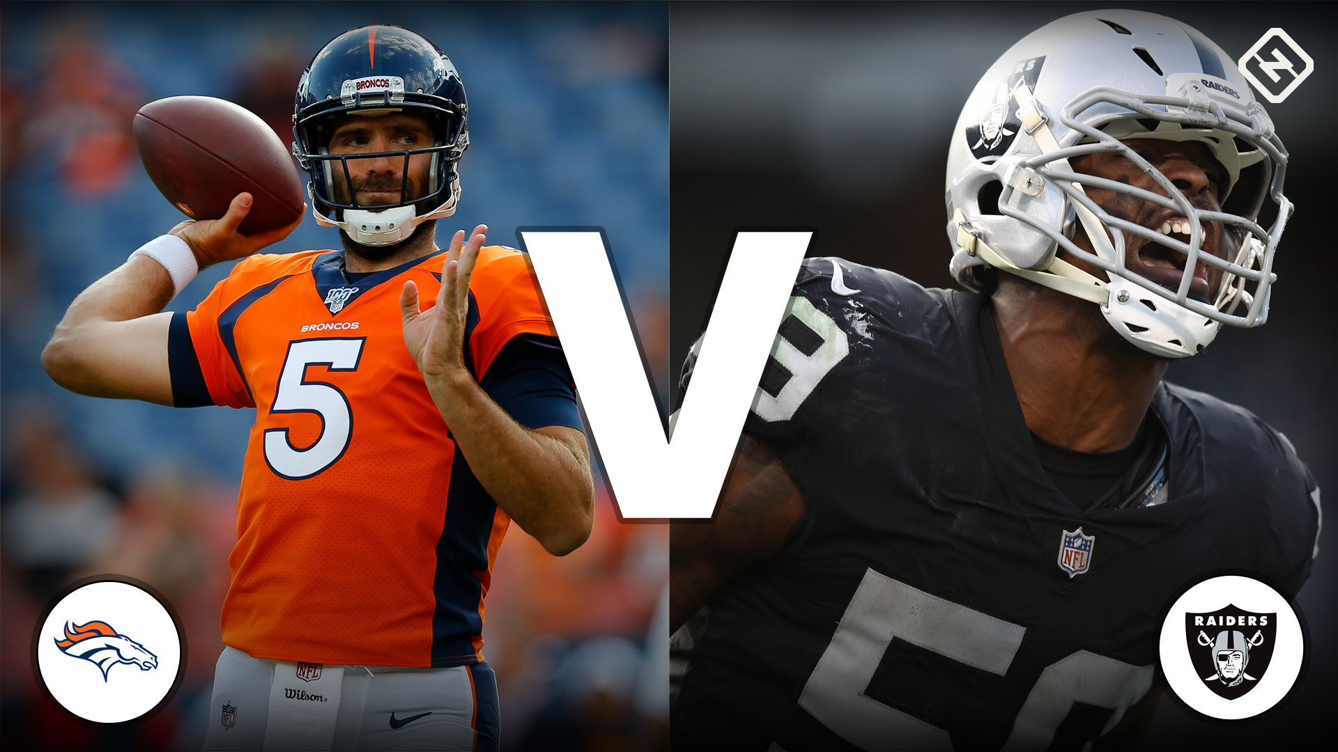 What channel is Broncos vs. Raiders on today? Time TV