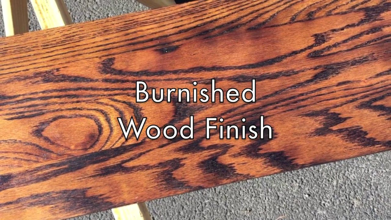 How To Create A Burnt Wood Finish Burnt Wood Finish Wood Finishes Diy Wood Finish