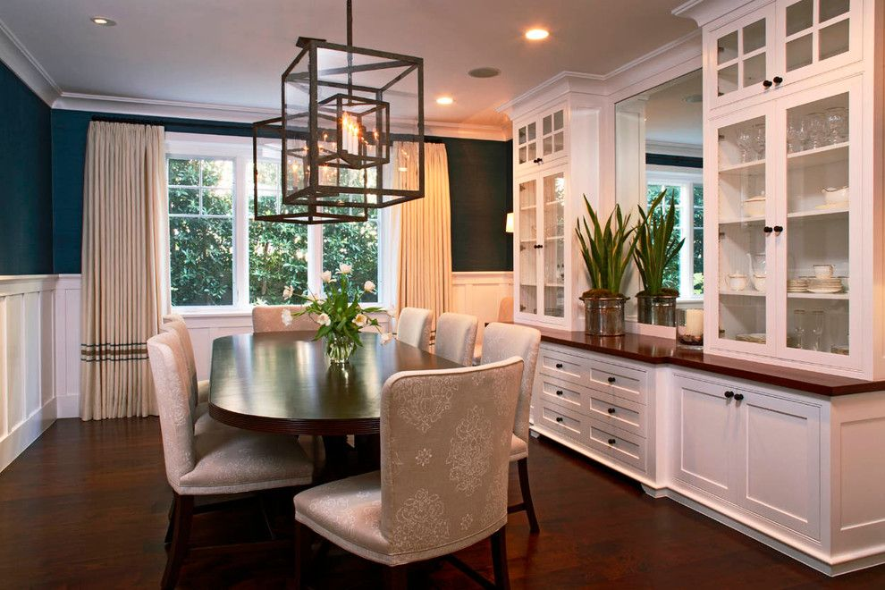 Kitchen Bar Cabinet Dining Room Traditional with Beige ...