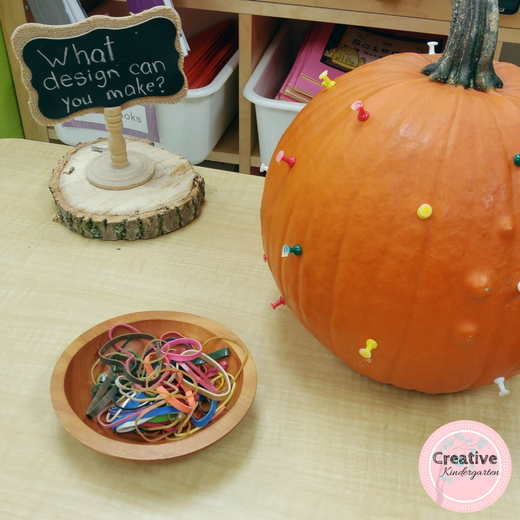 Pumpkin Activities in Kindergarten | Creative Kindergarten