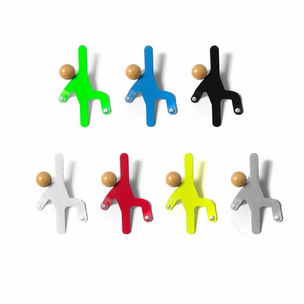 colorful wall mounted coat hooks funky wall hooks ideas climbing men