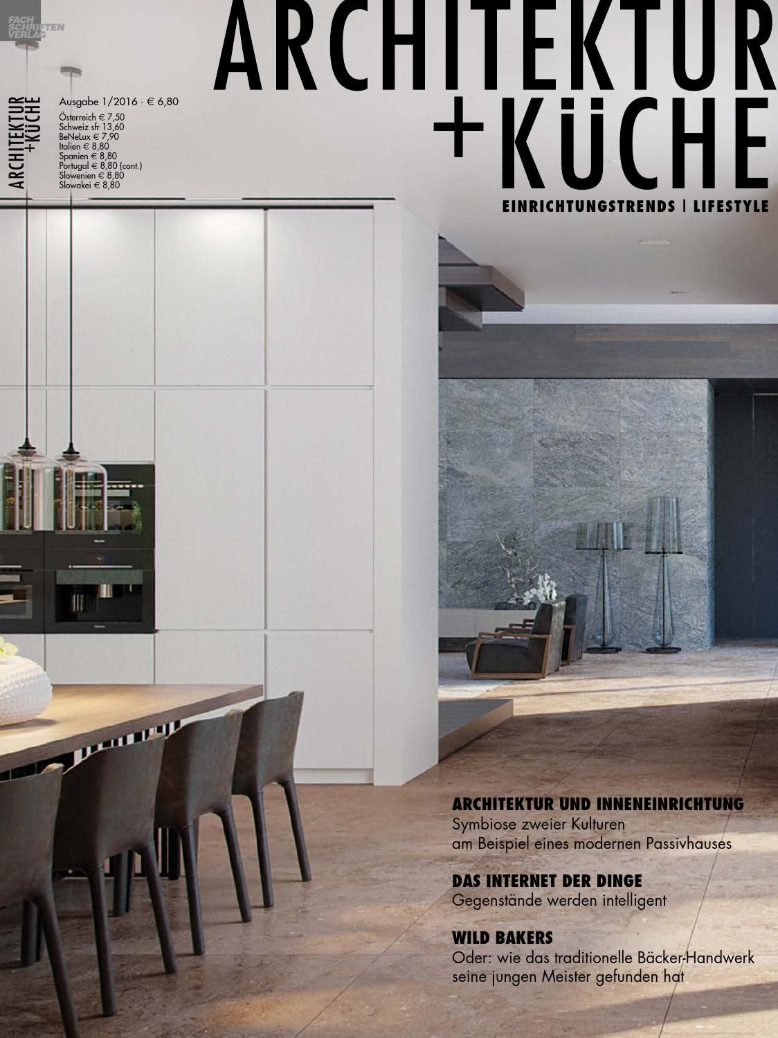 ARCHITEKTUR + KÜCHE 1/2016 | Interiors