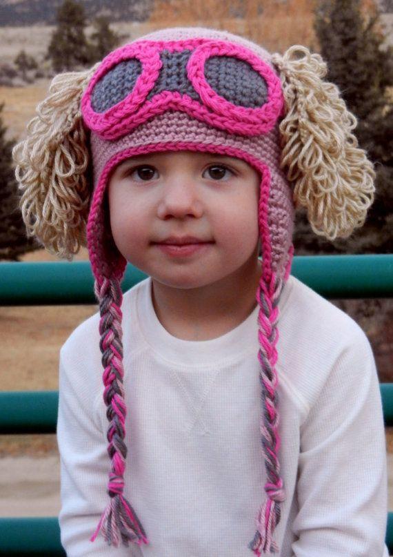 Paw Patrol Skye Crochet Hat Pattern   Crochet Treasures   Pinterest ...