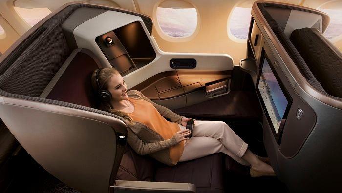 Singapur von Liebeszauberin auf Luxury Flug, Luftfahrt