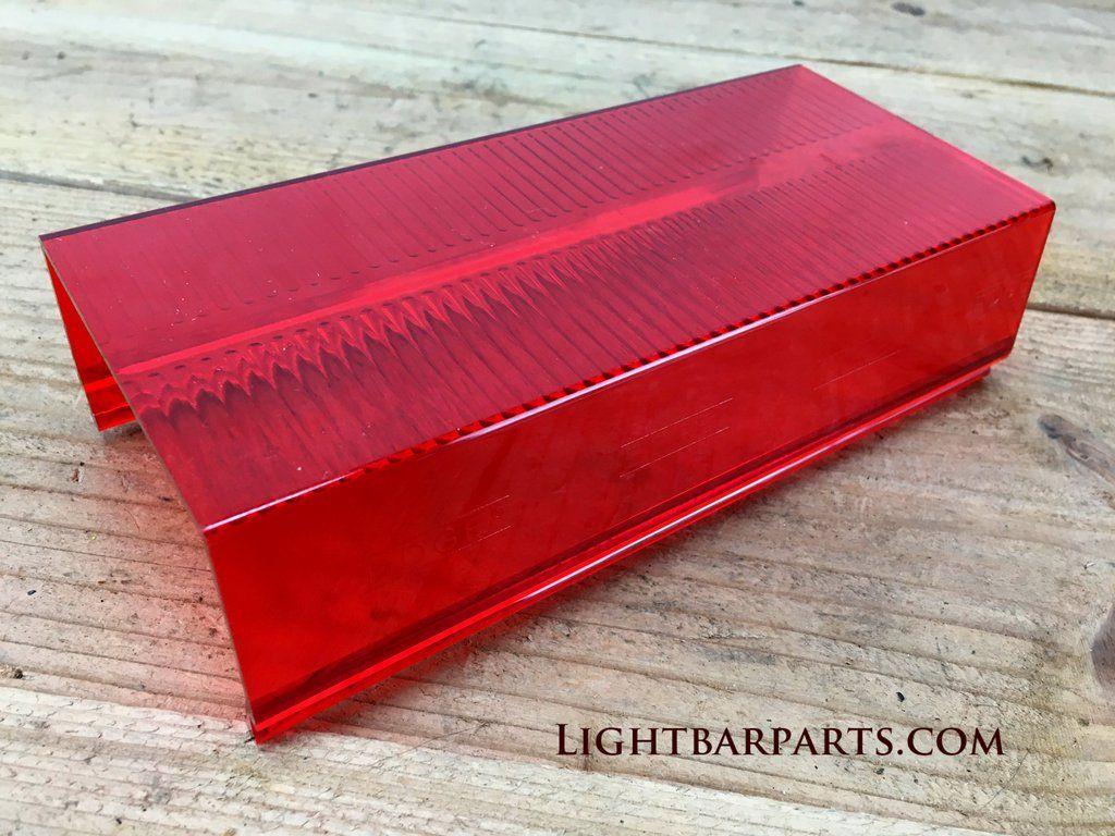Vintage Whelen 7 1 4 Inch Edge 9000 9m Mini Lightbar Red Lens Section Nice In 2020 Bar Lighting Red Filter Vintage
