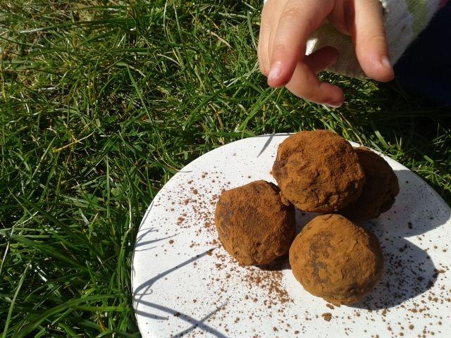 Raw chili chocolate truffles recipe - Foodista.com