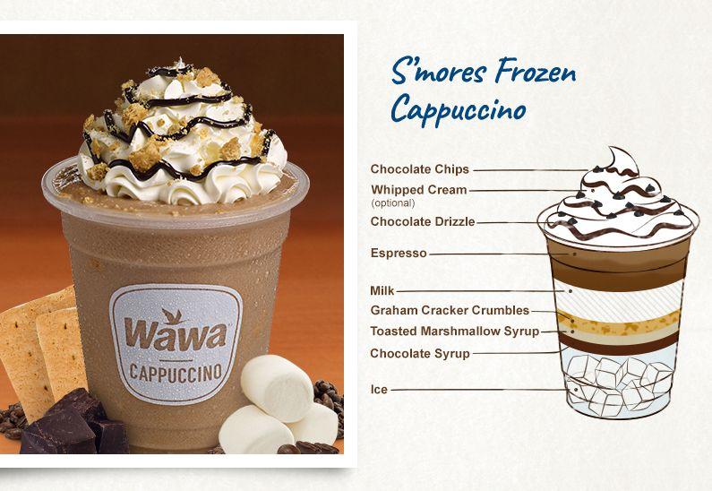 Lattes Macchiatos Hot Chocolates Cappuccinos Chai Teas Wawa Frozen Cappuccino Recipe Chocolate Cappuccino Cappuccino Recipe