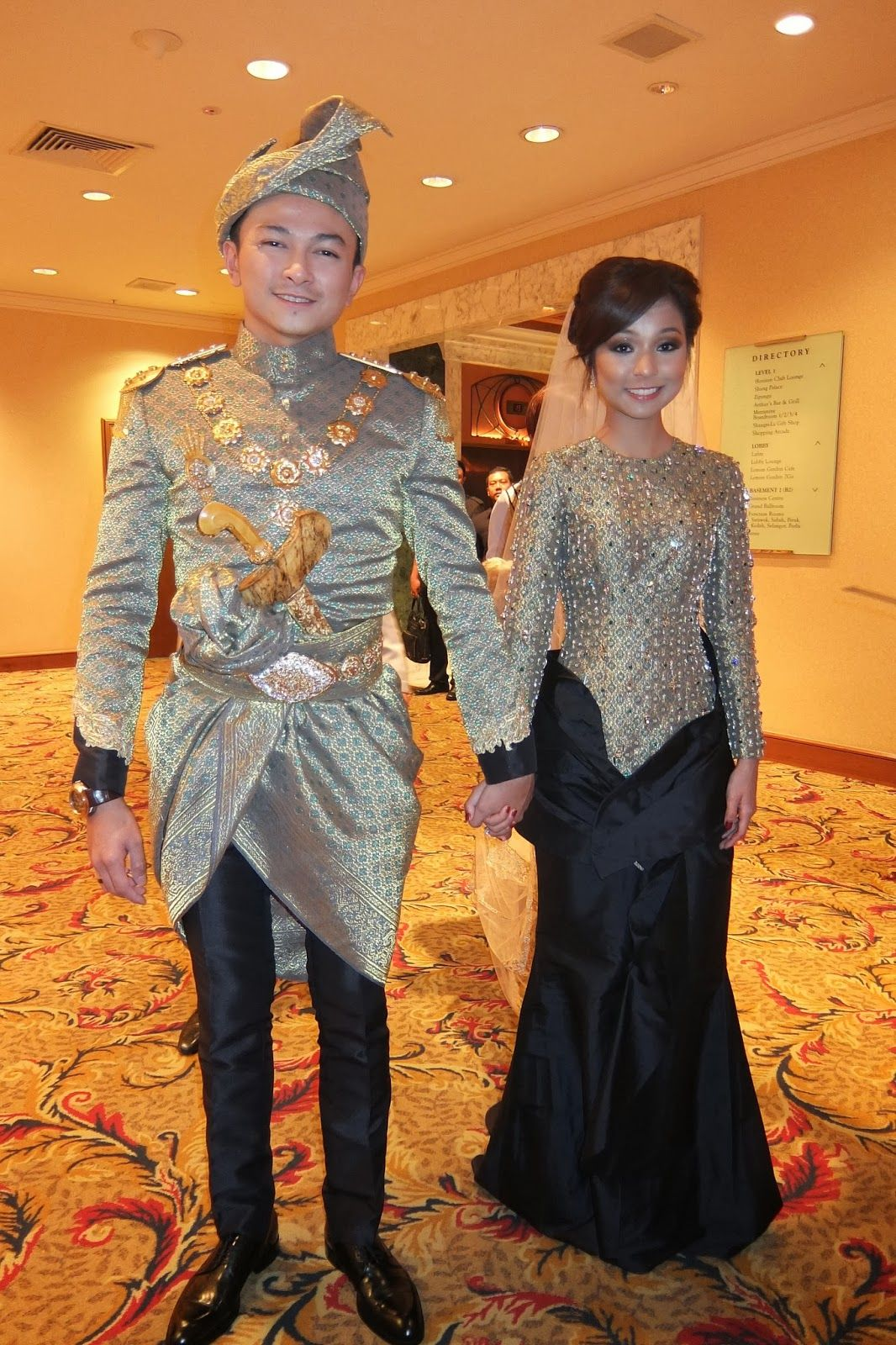 Pin by Nur Nasriah on Songket is the LOVE!  Wedding outfit