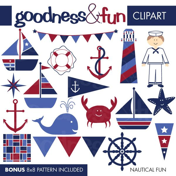 free nautical clip art illustrations cliparts nautical fun rh pinterest com free printable nautical clipart free nautical clip art images