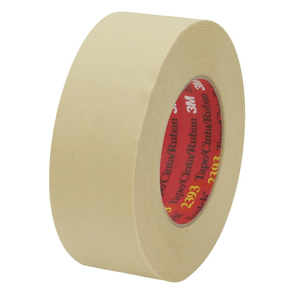 3m 2393 Masking Tape 3 Core 2 X 180 Tan Pack Of 24 Masking Tape Tape Break Room