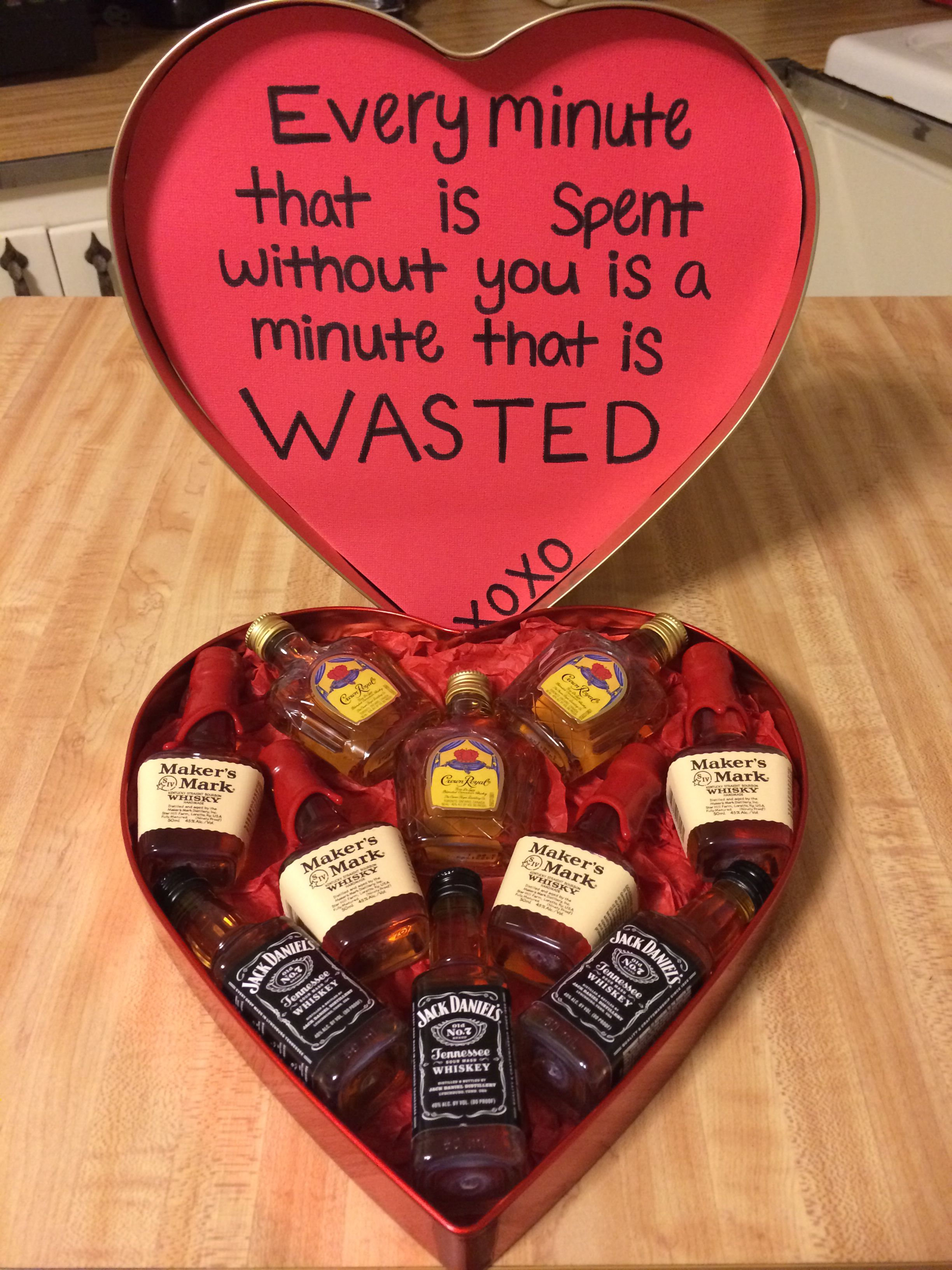 I Would Totally Make This For My Husband Valentine Ideas 21st Birthday
