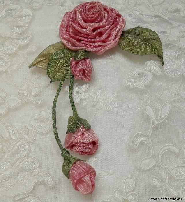 Kwiaty tkaniny do dekoracji butów (34) (641x700, 401Kb)