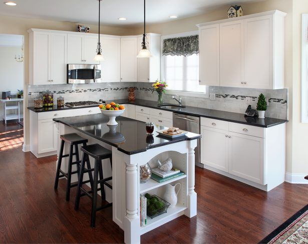 Kitchen Cool kitchen cabinet and countertop small kitchen island with side shelves white wood cabinnet black marble countertop wooden backless counter ... & Kitchen Cool kitchen cabinet and countertop small kitchen island ...