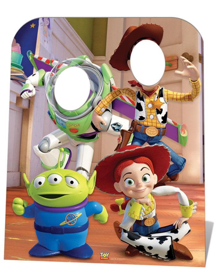 Toy Story Standin Child Size Cardboard Cutout Standee Standup Buzz Woody Jessie Toy Story Party Toy Story Birthday Toy Story Birthday Party