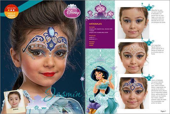 Maquillaje artistico infantil paso a paso fotos 77