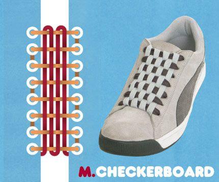 shoes tie design