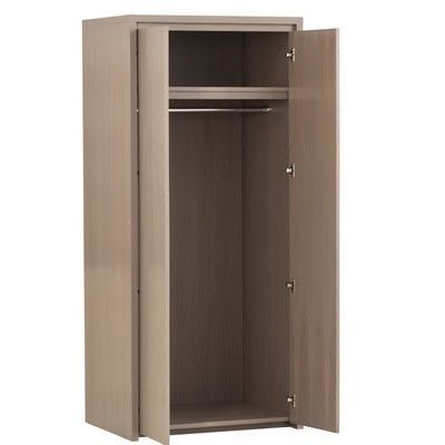 Urbangreen Thompson Armoire Finish: Unfinished, Wood Veneer: Walnut