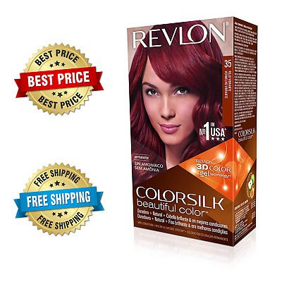 Details About Revlon Colorsilk Vibrant Red Hair Color Dye With