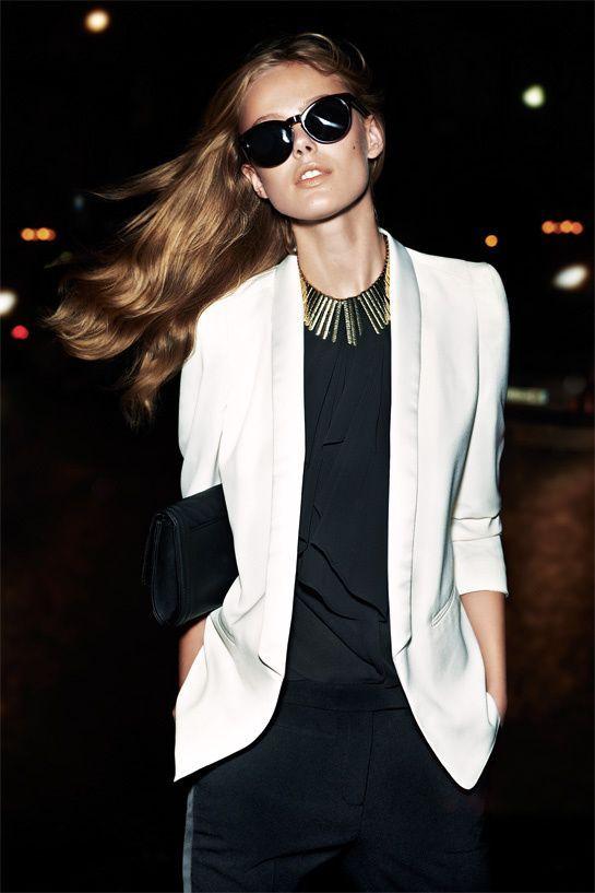 Αποτέλεσμα εικόνας για white blazer vogue