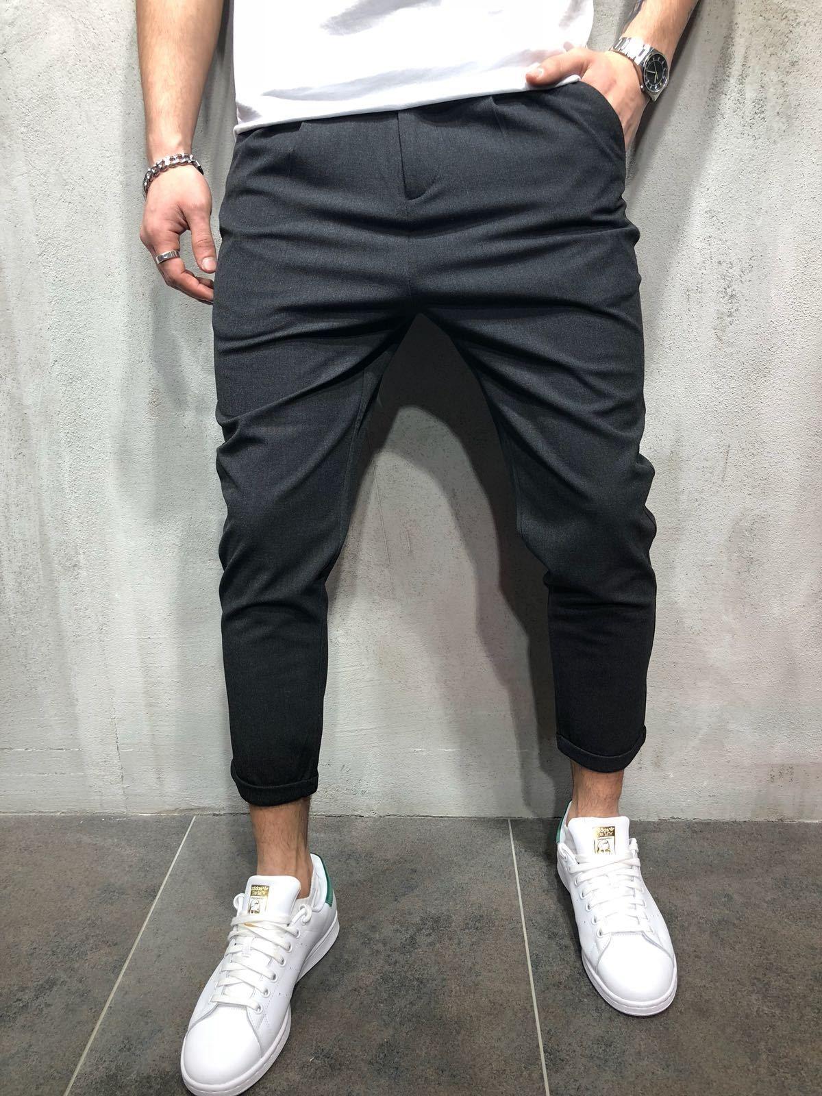Mens streetwear, Mens pants casual
