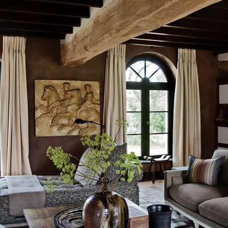 A Rustic Yet Sophisticated Farmhouse in the French Countryside : Architectural Digest