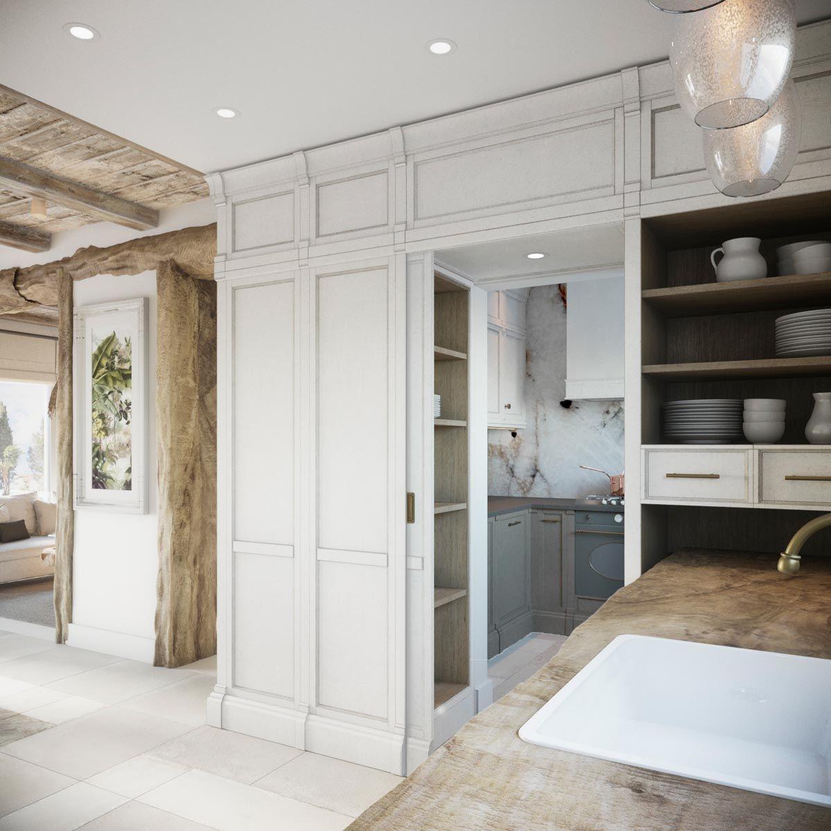 2 Homes in Mediterranean Rustic Chic | kuchnia | Pinterest | Rustic ...