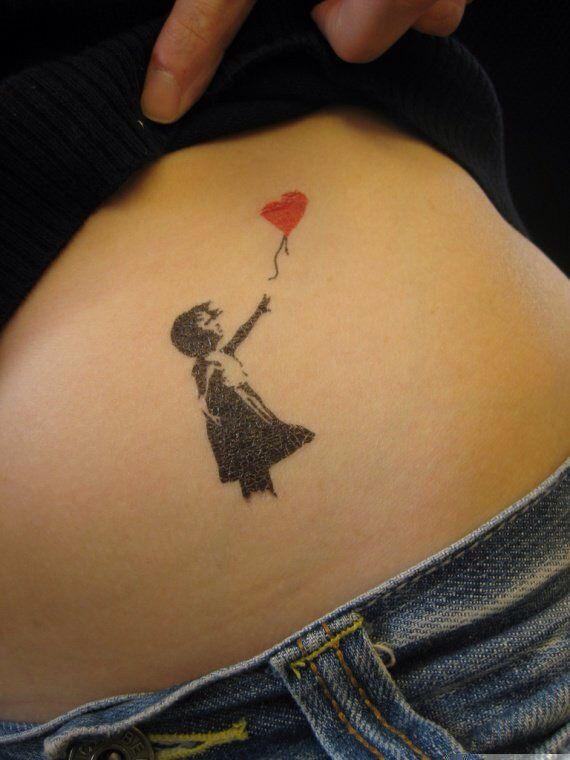 petite fille ballon | love - | tattoos, banksy tattoo, tattoo designs