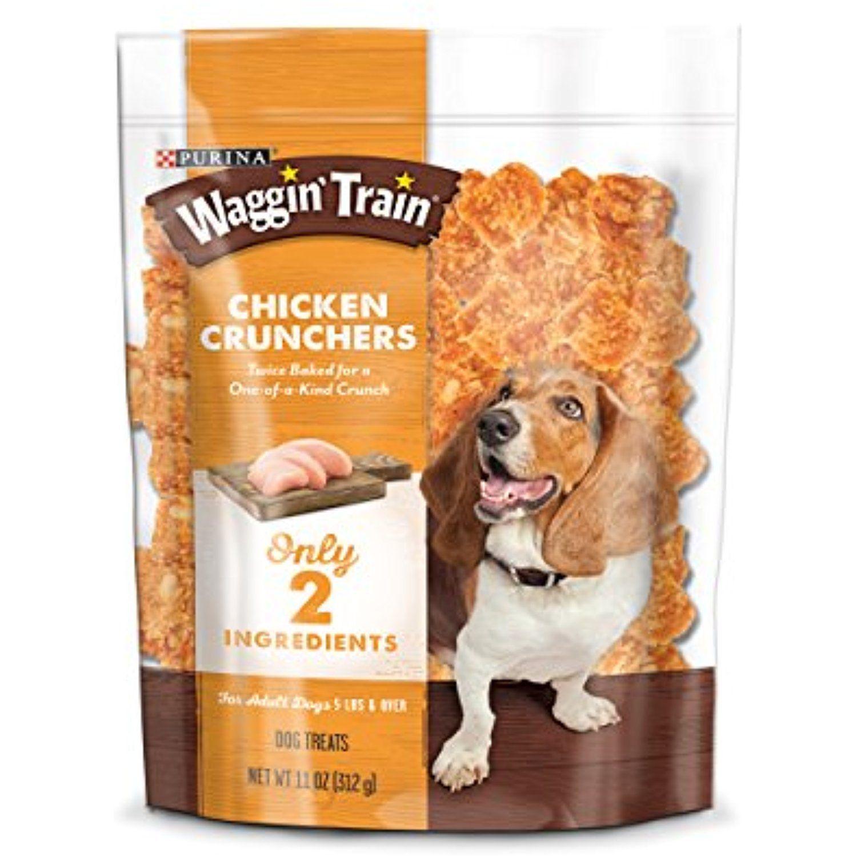 Purina Waggin Train Chicken Crunchers Dog Treats 11 Oz Pouch