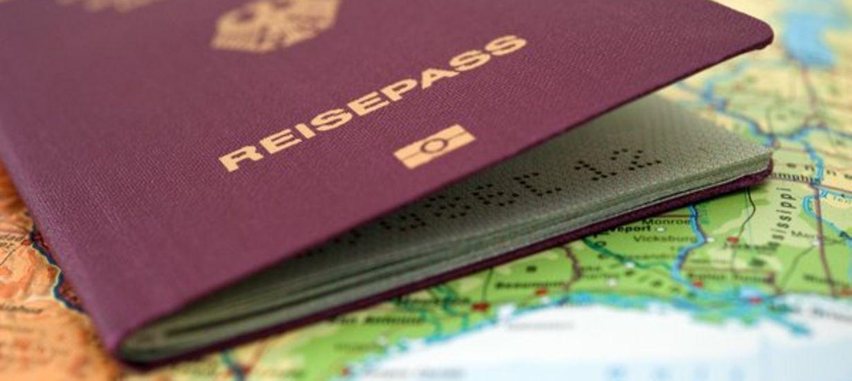 Reisepass der Bundesrepublik Deutschland © picture