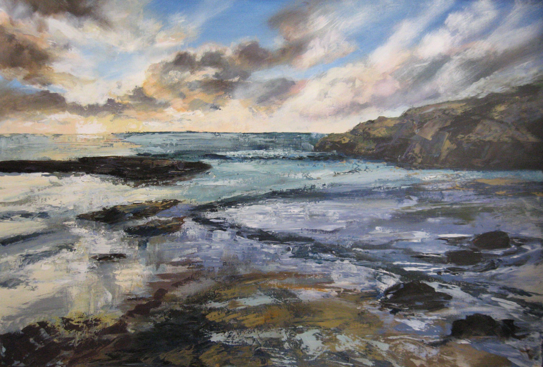 Landscapes Seascapes Judithyates Com Seascape Landscape Painting