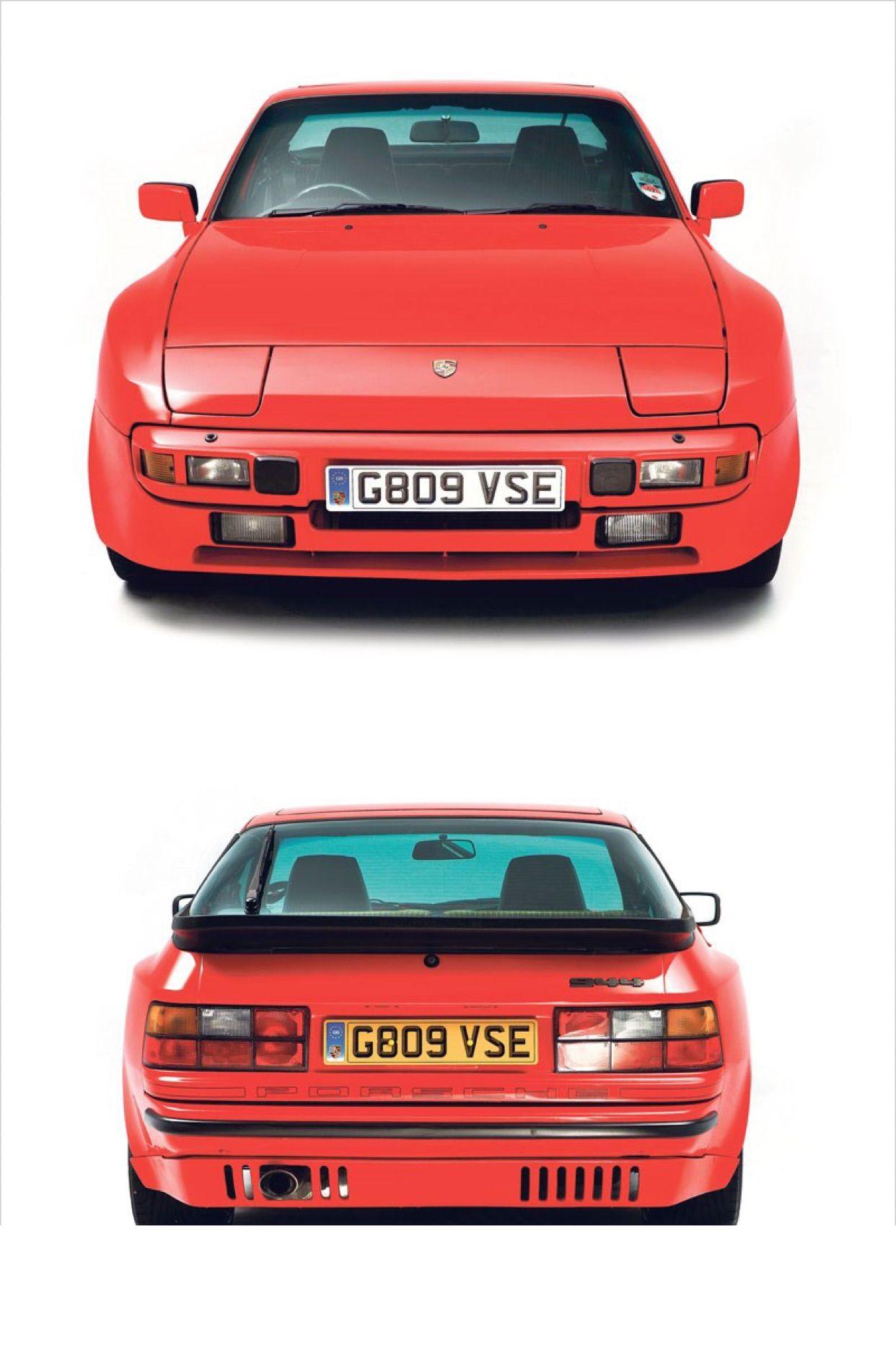 Porsche 944 Uk Row Rhd Spec With Euro Rear Valance Porsche 944 Porsche Vintage Porsche