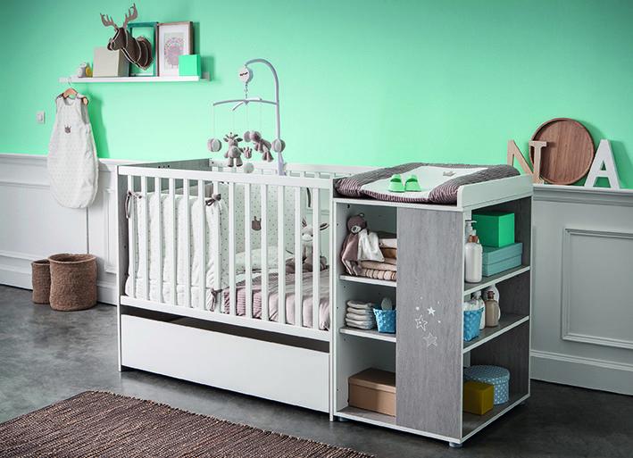simple lit chambre ana de sauthon passion avec le thme max. Black Bedroom Furniture Sets. Home Design Ideas