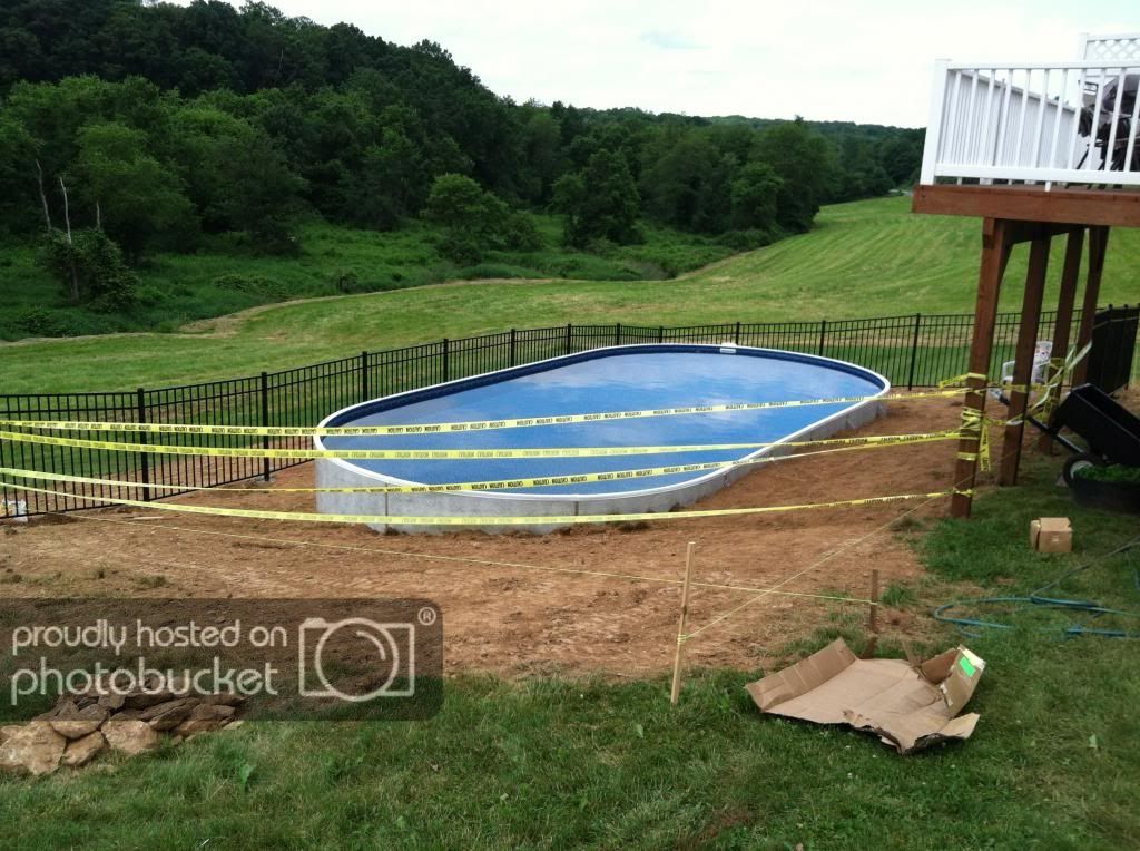 New Radiant Pool on Hill / Slope | Trouble Free Pool in 2019 ...