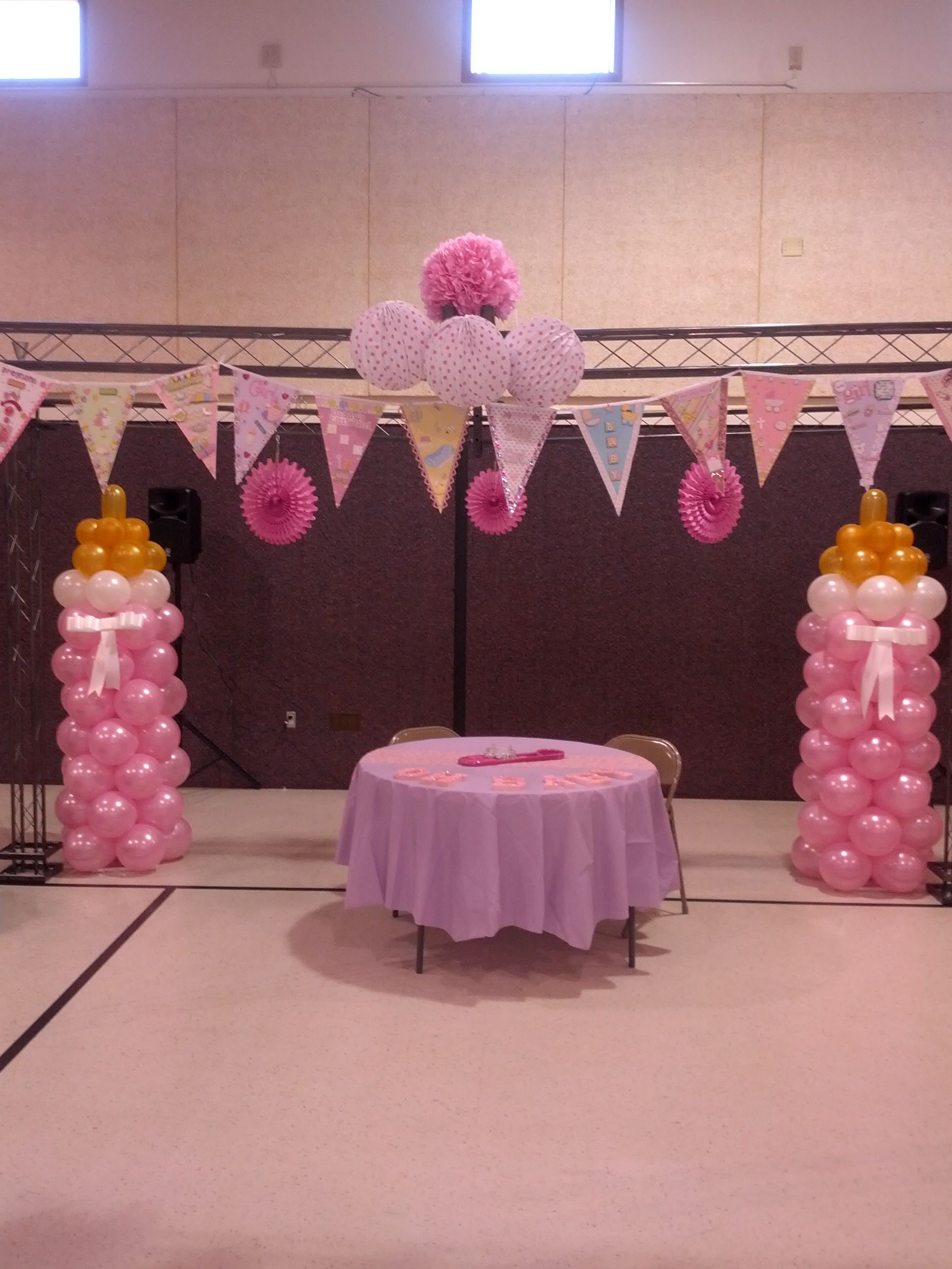 Baby shower balloons baby bottle. | asst balloon decor | Pinterest ...