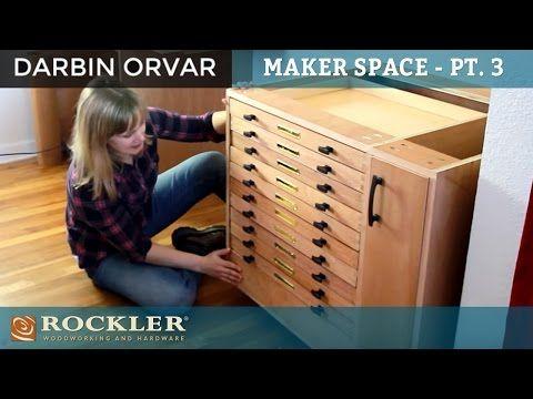 DIY Möbel selber bauen   Schrank mit Schubladen aus Holz ...