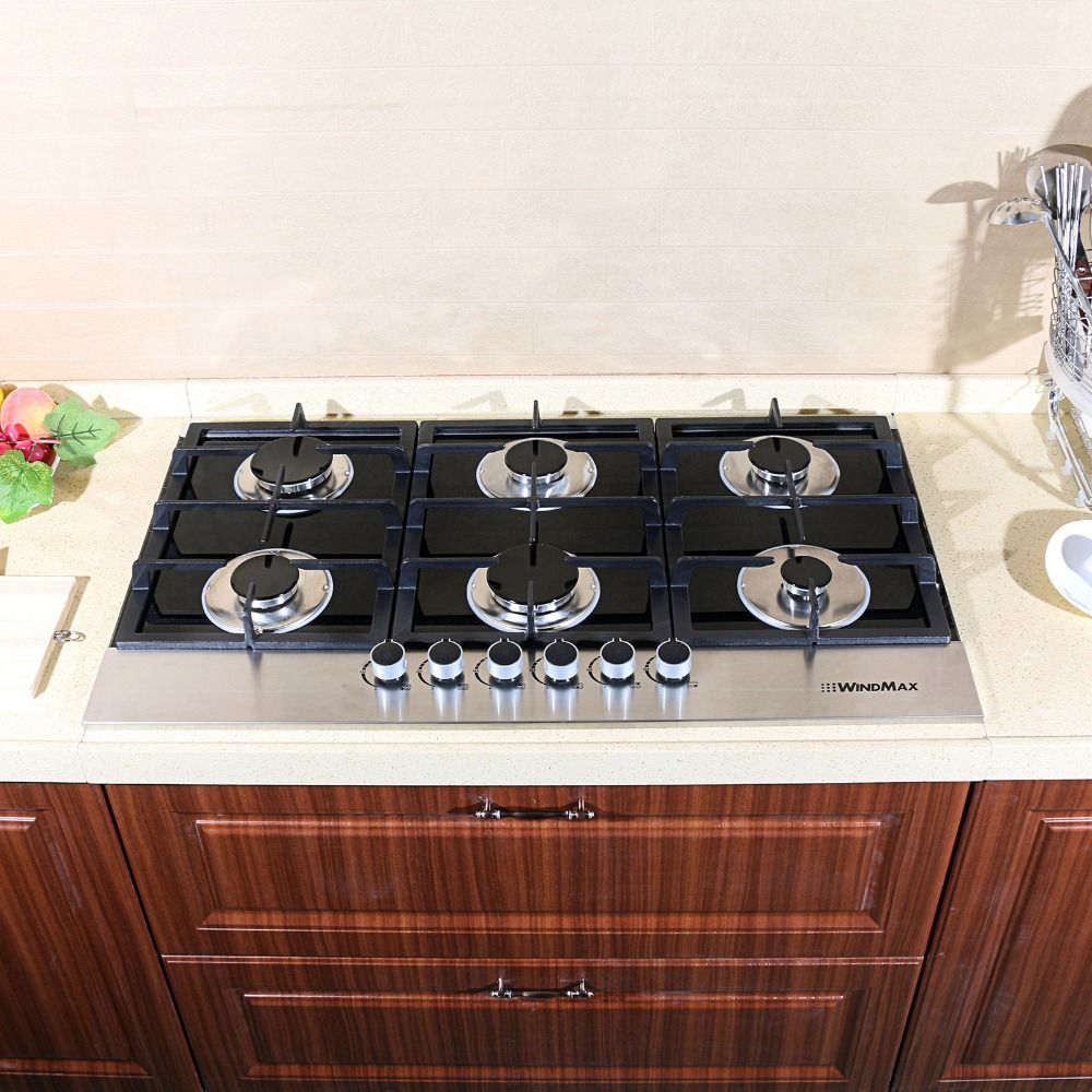 36 New 3300w Electric Tempered Glass Built In Kitchen 6 Burner