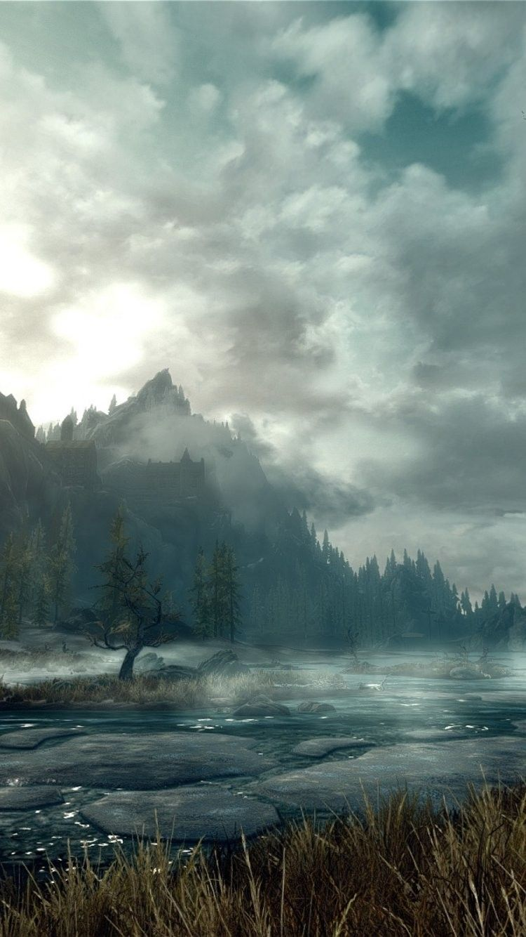 Elder Scrolls Landscape iPhone 6 Wallpaper 33299 - Games ...