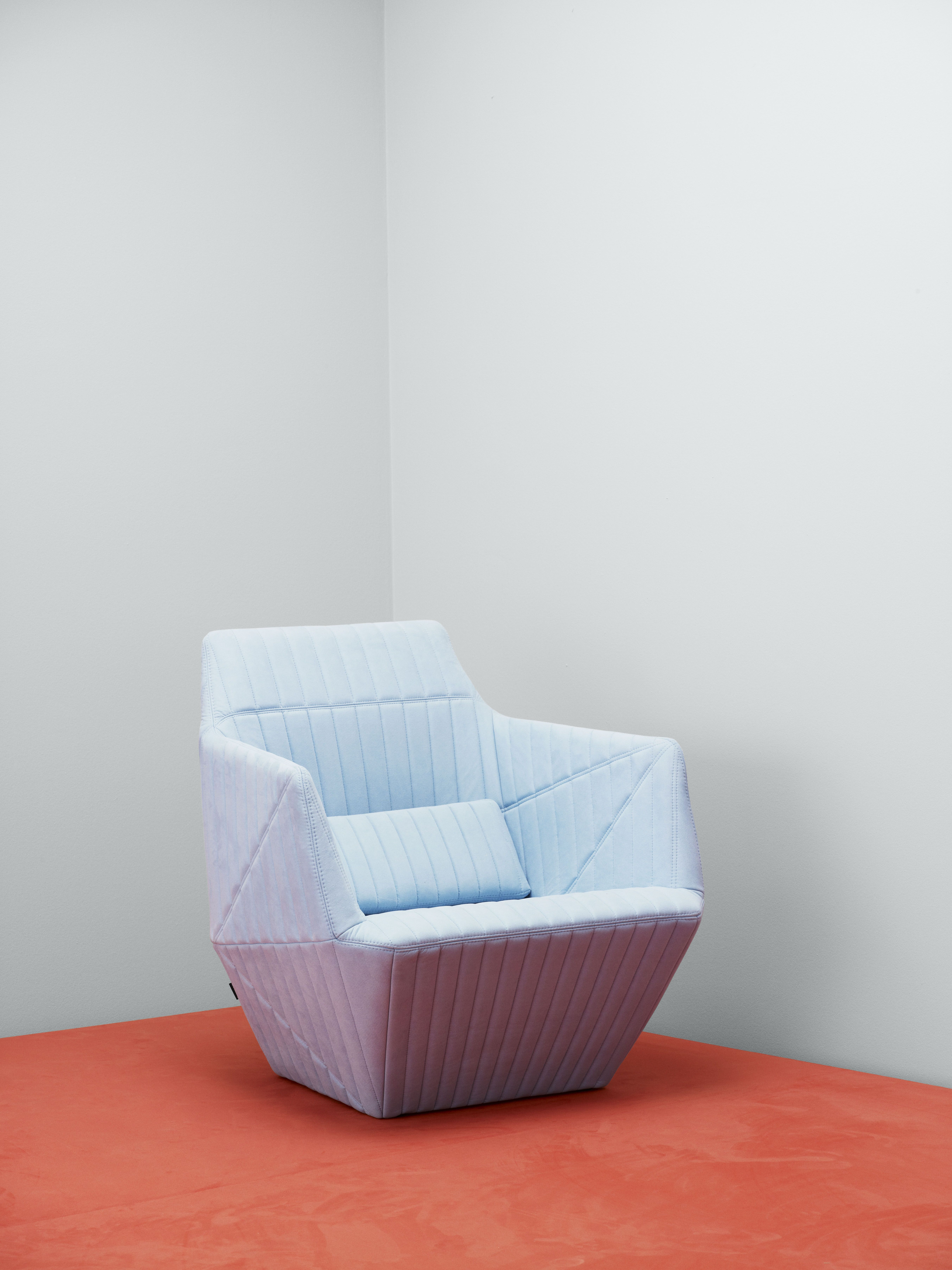 Ligne Roset Facett Armchair In Upholstery Textile Waterborn, Designed By