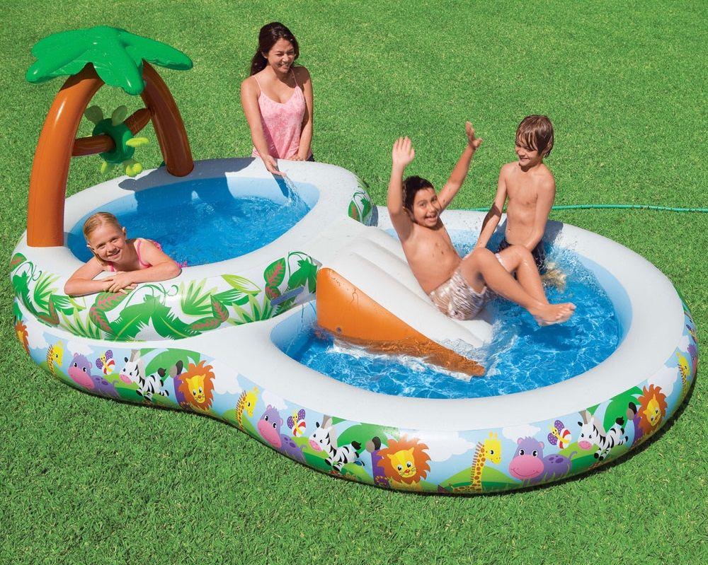 bon Amusez vos enfants au grand air avec une aire de jeux gonflable ! Châteaux,  toboggans ou mini piscines, les plus petits modèles disponibles dés u20ac.