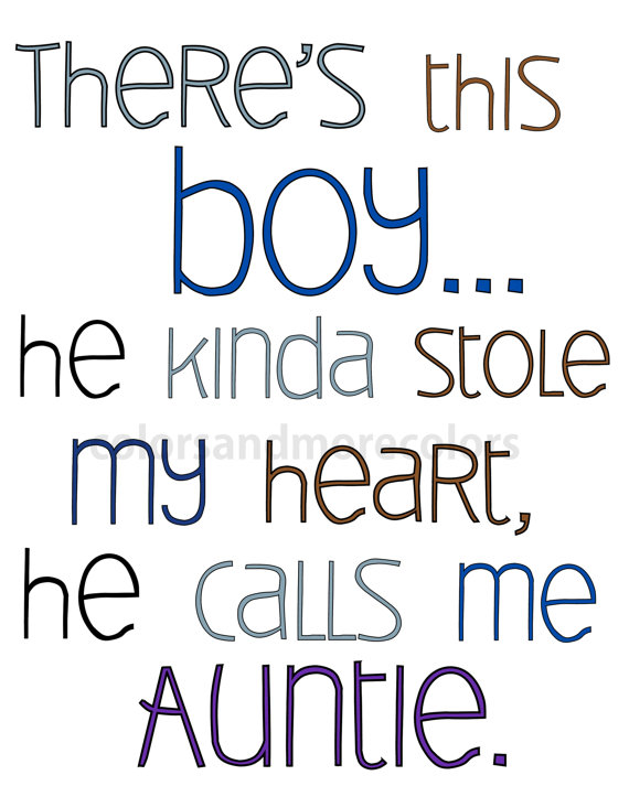 Nephew Quotes Unique Auntie Gifts Nursery Print Boys Nursery Decordesignsbyjaneth