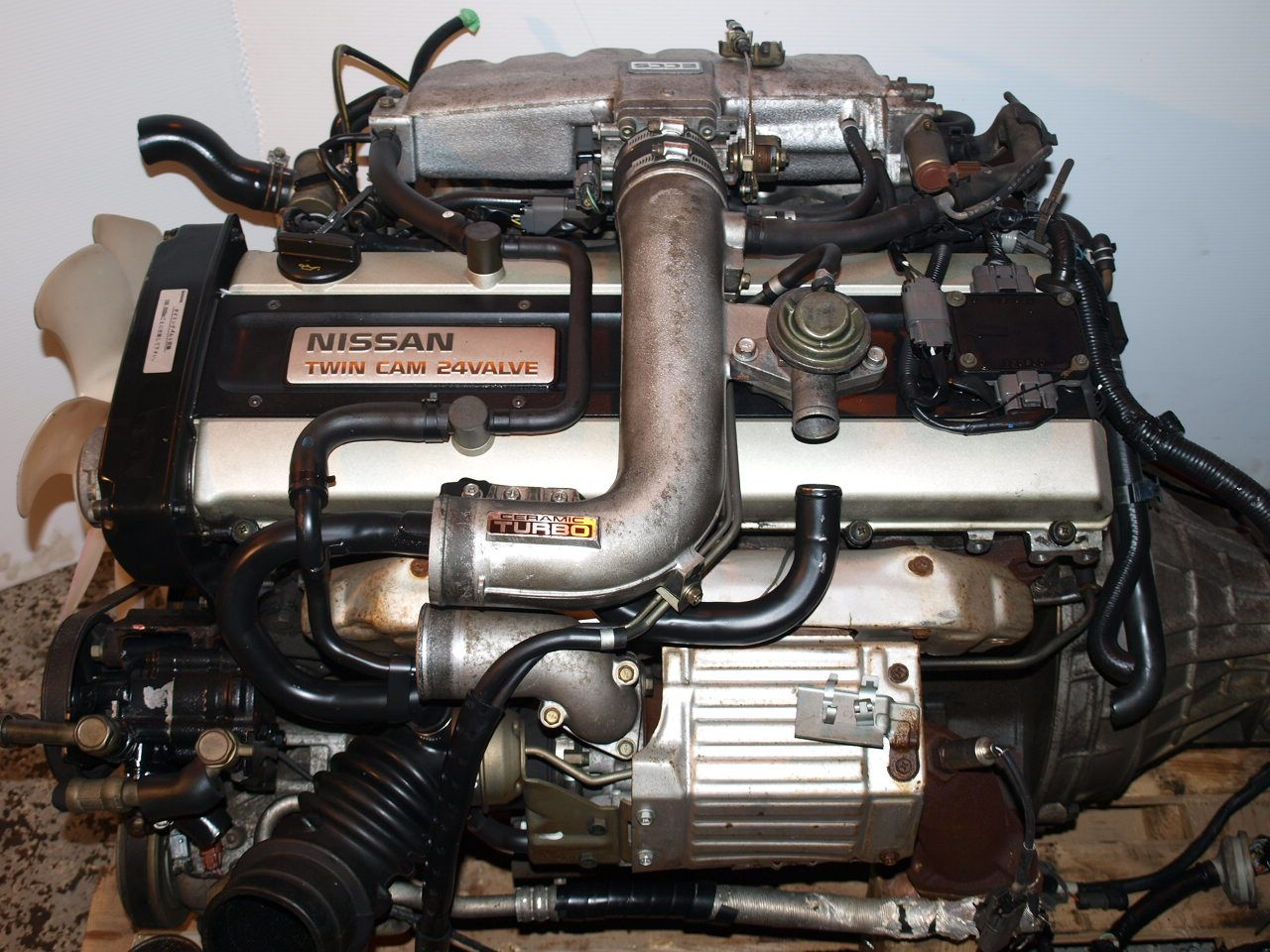 89-94 JDM RB20DET GTS-T TURBO R32 ENGINE, 5SPD RWD, ECU, CUT ...