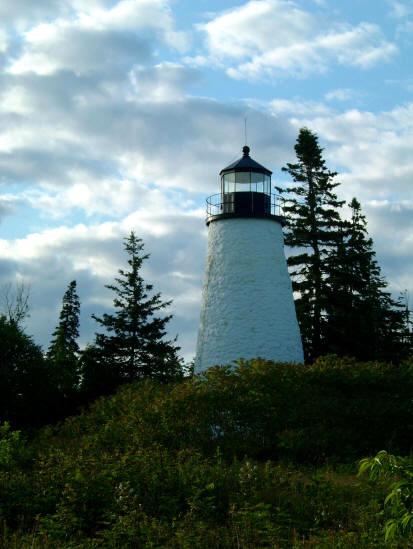 Lighthouse in Castine, Maine StuartWoods