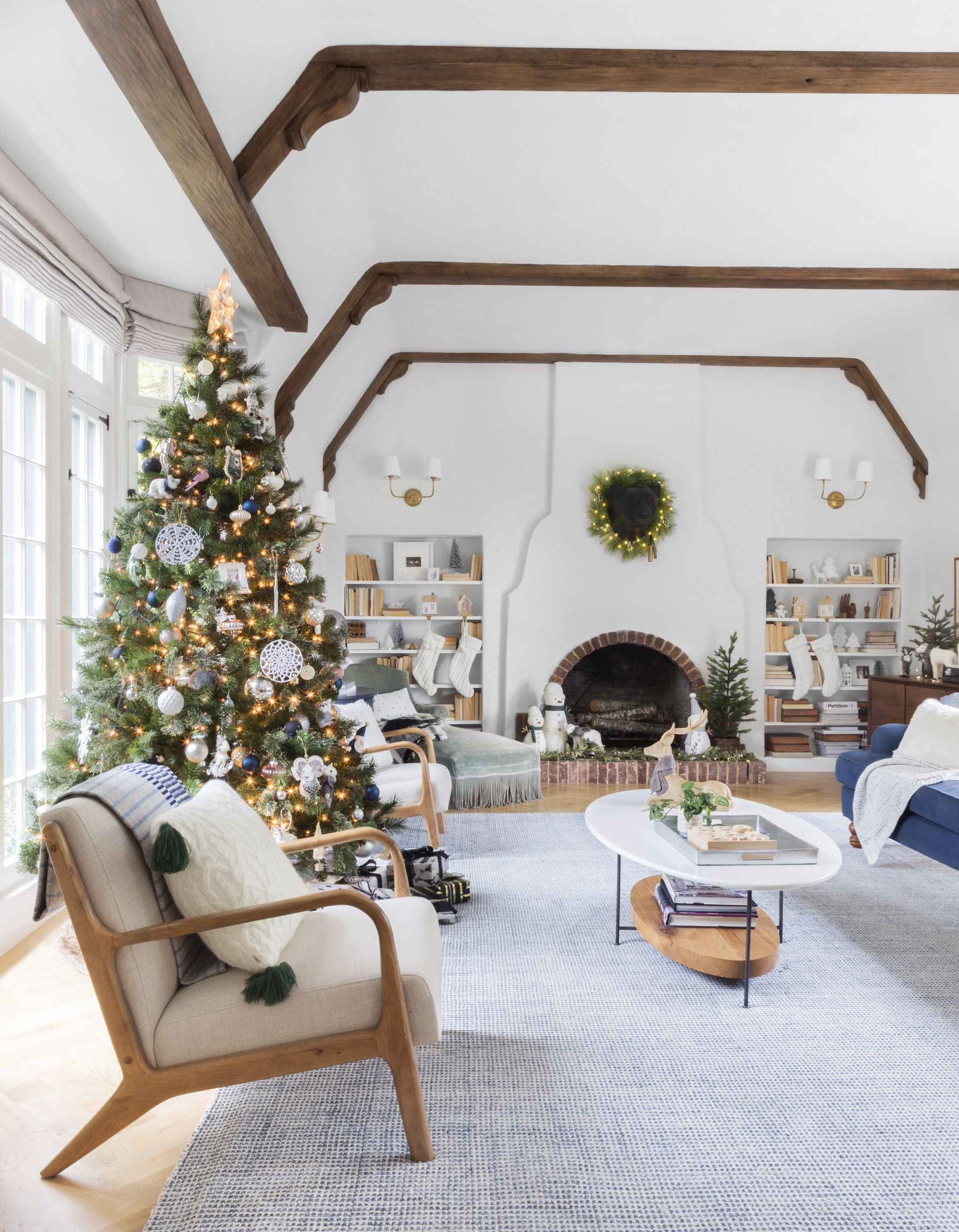 Our Living Room Holiday Reveal | Pinterest | Christmas 2017, Neutral ...