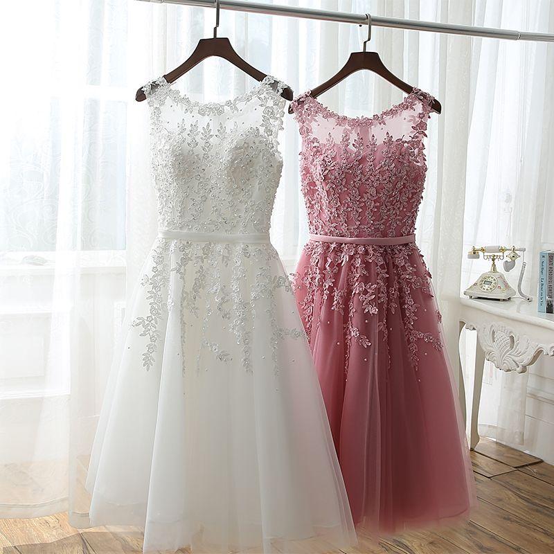 Suficiente vestido joelho rosa chá dama de honra - Pesquisa Google | Decor  BE63