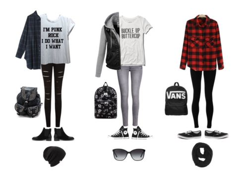 black, Polyvore, and punk rock image