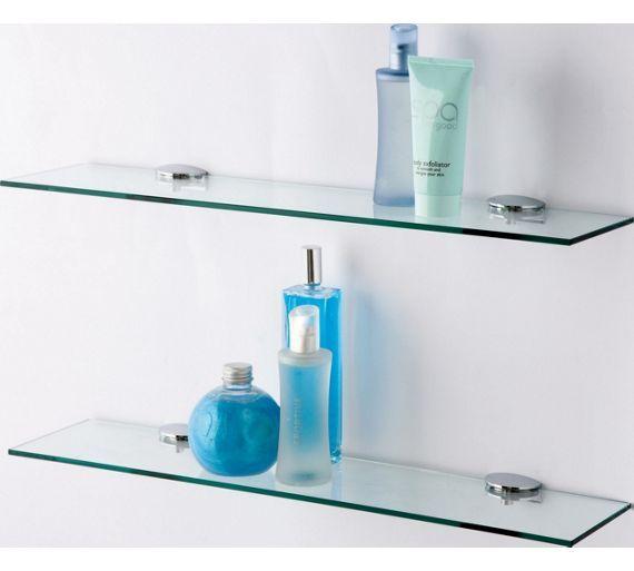 Buy Argos Home Glass Shelves Pack Of 2 Bathroom Shelves Argos Glass Shelves In Bathroom Glass Bathroom Glass Corner Shelves