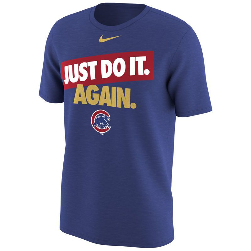33a025167 Men s Nike Royal Chicago Cubs Opening Day T-Shirt